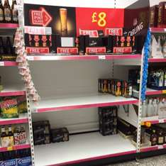 Carling 12 Cans + free Carling Glass £8.00 @ Asda In store