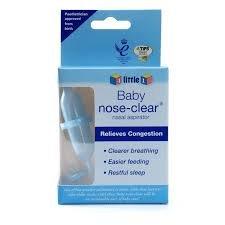 4 Little 1 nasal aspirator £1.00 at Poundland