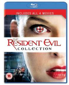 The Resident Evil Collection (Blu-ray Region Free) @ Amazon - £8.30 (Free Delivery - £10 spend / Prime )