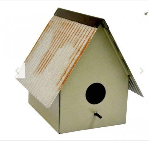 Small Metal Bird Box £1.75 (was £7) at tesco