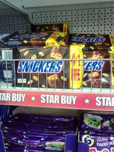 Snickers 5 pack £1 in poundworld
