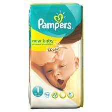 Pampers nappies size 1 (45) 2 for 1 offer @ Tesco £6.99/7.8p per nappy @ Tesco
