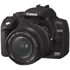 Cheap SLRs e.g Canon 350D with lens from £90 (used) @ CEX