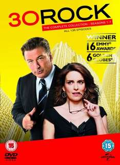 30 Rock Complete collection seasons 1-7 for £30.10 @ Amazon