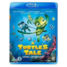 A Turtle's Tale - Sammy's Adventure - (2D/3D Blu-Ray) £3.00 Delivered @ Asda Direct