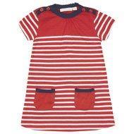 Jojo maman bebe girls Breton stripe dress £6.00 delivered