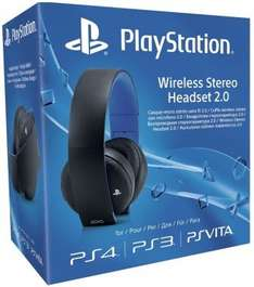 Sony 2.0 Wireless headset PS3/PS4/PSVita £60.75 @ Gameseek.co.uk