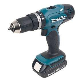 Makita BHP453SHE 18V 1.3Ah Li-Ion Cordless Combi Drill was £145 now £51 @ B&Q