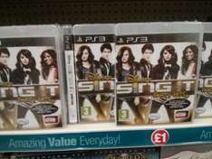 Disney Sing It Party Hits NEW PS3 only £1 @ Poundland