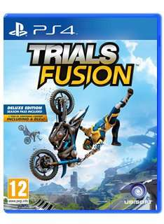 Trials Fusion Deluxe Edition (Includes Season Pass) for PS4 for £24.85 @ Simply Games