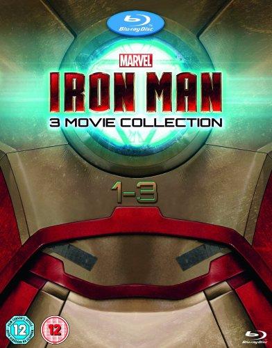 Iron Man 1-3 Blu Ray Box Set £20 @ Amazon