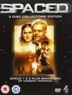 Cult Classic - Buy Spaced The Definitive Collectors Edition DVD £7.00 @ Amazon (Free delivery with Prime/£10 Spend)