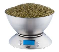 Shef High Quality 5kg/11lb Digital Electronic Kitchen Scales Add & Weigh Feature £16.99 Delivered @ Amazon/Designer Habitat