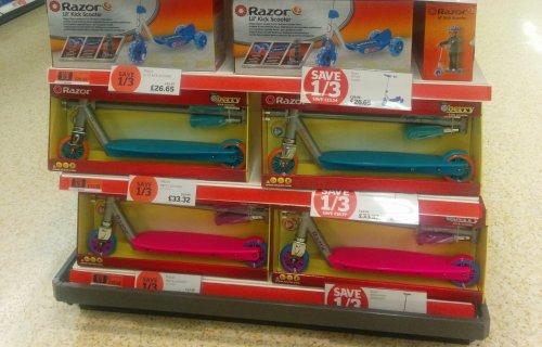Razor Jr Lil Kick Scooter 1/3 off - £26.65 @ Sainsburys