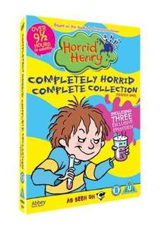 Horrid Henrys Completely Horrid Complete Collection DVD - Ebay / estocks
