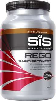 SIS Rego Rapid Recovery Drink 1.6kg - Chocolate only (free P&P with £20 spend) - 3% quidco £15.99 plus £2.99 delivery @ Rutland Cycling