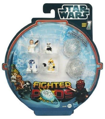 Hasbro Star Wars Fighter Pods (4 Figure Pack +2 Pods) £1 @ Poundland