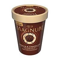 Magnum Chocolate Ice Cream Tubs 450ml £1 @ Fultons Foods
