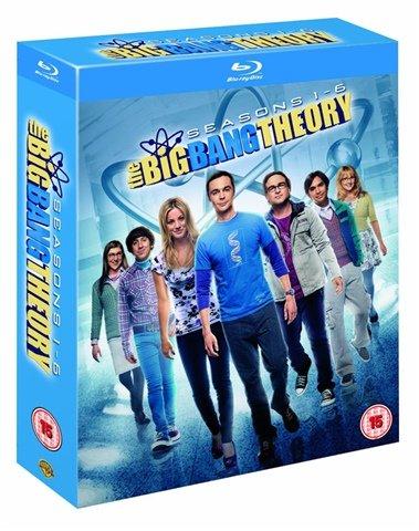The Big Bang Theory season 1-6 box set on blu ray or DVD (used) only £22+£2.50 P+P @ CEX
