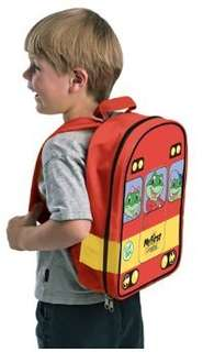 LeapFrog My First LeapPad Bus Backpack (Red) was £12 now £2.99 add-on item @ amazon