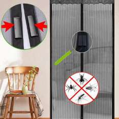 Magnetic Flying Insect Door Screen / Curtain £4.90 - Sold by UK Home & Garden Store Ltd and Fulfilled by Amazon