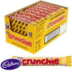Cadbury Crunchie (Case of 48 Bars) £12 @ Home Bargains