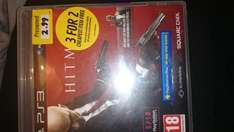 Hitman Absolution preowned PS3 £2.99 @ Game instore