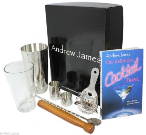 Andrew James Premium Cocktail Set 13.99 + 2.99 delivery @ Amazon Andrew James UK