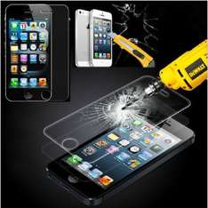 iPhone 5 Tempered Glass Screen Protector £1.98 delivered at Ebay / v9universal