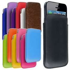 iPhone 5 PU Soft Leather Pouch eBay. £1.99 delivered at Ebay / e4deal_uk