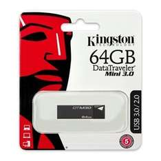 Kingston 64GB DataTraveler DTM30 USB 3.0 Flash Drive £16.49 Free delivery Play.com (Sold by Zoombits)