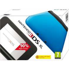 £139.99, Nintendo 3DS XL Console - Blue/Black @ Play.com (Sold by SimplyGames)