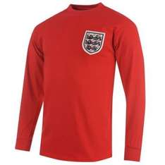 Score Draw Men's England 1966 World Cup Final No.6 Shirt at amazon.co.uk sold by gamesdvdscdstoysandsports. - £11