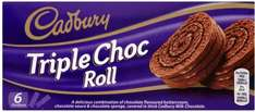 Cadbury Triple Chocolate Roll (245g) was £1.00 each now 3 for 2 (67p each) @ Sainsbury's