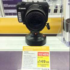 Canon Eos M now half price £149.99, instore at currys!