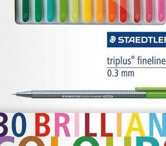 Tesco - STAEDTLER FINELINERS 30PK - £6.20