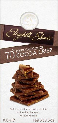 Elizabeth Shaw 70% Cocoa Crisp (100g) was £2.00 now £1.00 @ Sainsbury's