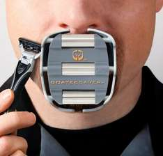 GoateeSaver - Shaving template for Goatees & Van Dykes - £12.99 Sold by GoateeSaver Company, LLC and Fulfilled by Amazon.