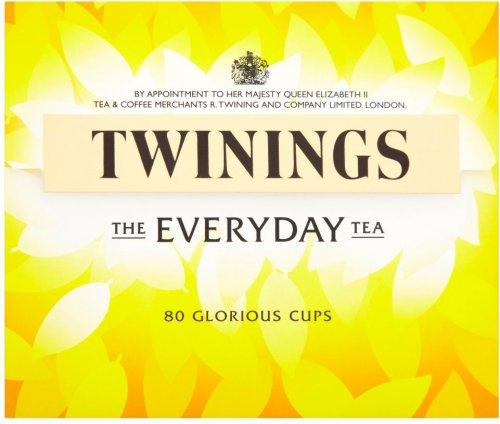 Twinings Everyday Tea Bags (80) was £3.50 now £2.00 @ Sainsbury's