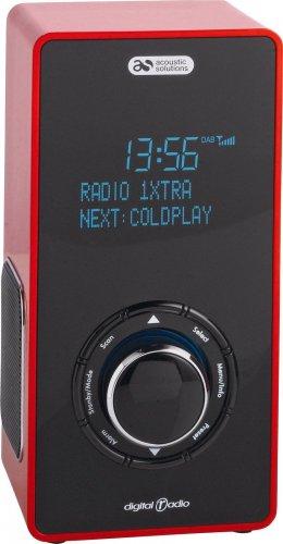 Acoustic Solution DAB Radio- Red/Black  £27.99 @ argos ebay