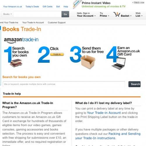 Free Amazon Gift Card Exchange old books