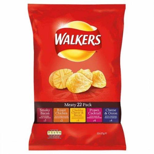 Walkers Crisps 9p a pack - 40 packs of Walkers crisps for £3.60 @ asda (Using Asda Price Guarantee)