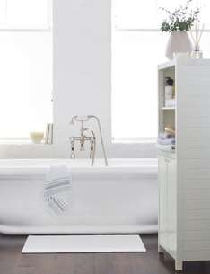 Bath Mat- £2.99 - Large Woven Bath Mat @ m&s Was £15.50 NOW £2.99 80% discount