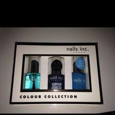 Nails inc. London colour collection 3 polish set-£4.99 in store at Savers