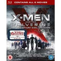 X-Men And The Wolverine Adamantium Collection Blu Ray £14.99 @ Xtra-Vision