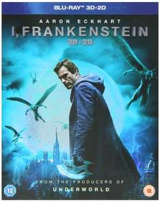 I, Frankenstein, 3D Blu Ray/2D Blu Ray £9 @ Amazon (free delivery £10 spend/prime)