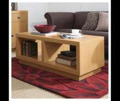 Torino Coffee Table. Oak effect. Just £19 @ Tesco Direct. £7.95 postage. £26.95 delivered. Was £79. Other reduced furniture in post #1