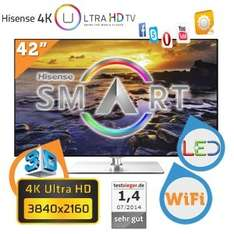 Hisense 4K 42-inch 3D LED SmartTV UltraHD £359.90 delivered @ ibood