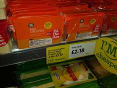 Morissons Red Leicester Chedder Cheese 2 x 350g for £3.50 at Morissons at Morissons