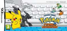 Learn with Pokemon Typing Adventure - DS - Argos - £7.99 online £6.99 instore